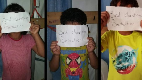 Child refugees detained on Nauru Island talk to CNN.