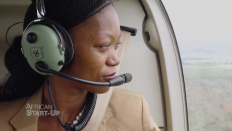 The rejected flight attendant who started her own aviation company