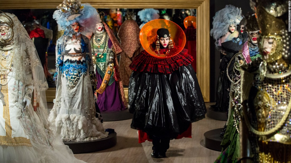 "Daniel Lismore is a British artist, stylist and designer whose multi-layered, extravagant outfits have earned him the title ""London's Most Outrageous Dresser."""
