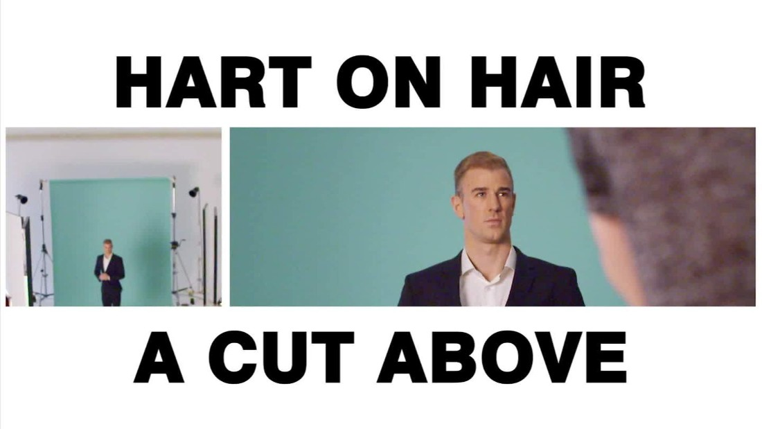 CNN Sport caught up with Manchester City goalkeeper Joe Hart, who gave us his verdict on some of the most memorable hairstyles in soccer history -- but only after he had doused a cheesecake inferno with a fire extinguisher.