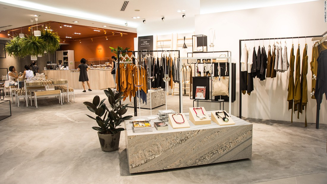 The first IN GOOD COMPANY (IGC) standalone store is in the heart of the city's exclusive Orchard Road shopping strip.