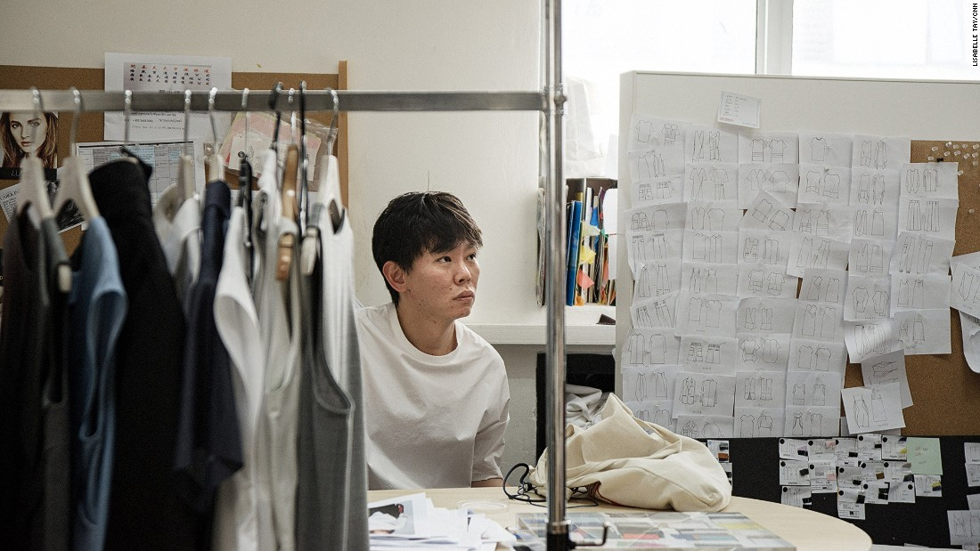 One of IGC's four founders, Sven Tan (pictured) aims to create clothes that provide optimal comfort in Singapore's sweltering heat.<br />