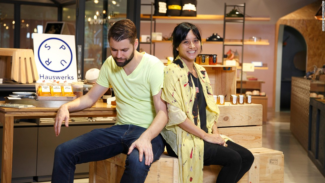 "The founders of SPUR Hauswerks, Indri Tulusan and Aiden Hopfner have a passion for bringing local designs to life. ""We are all independent brands trying to do something different in Singapore and we thought together we would be able to build something bigger and better than any of us could do individually,"" says Hopfner."