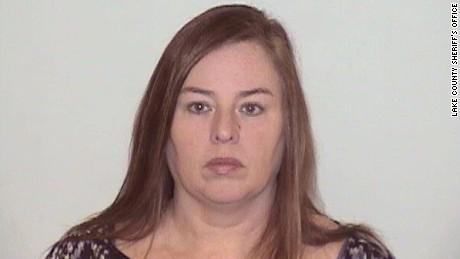 Melodie Gliniewicz, 51, has surrendered to the Lake County Sheriff's Office.
