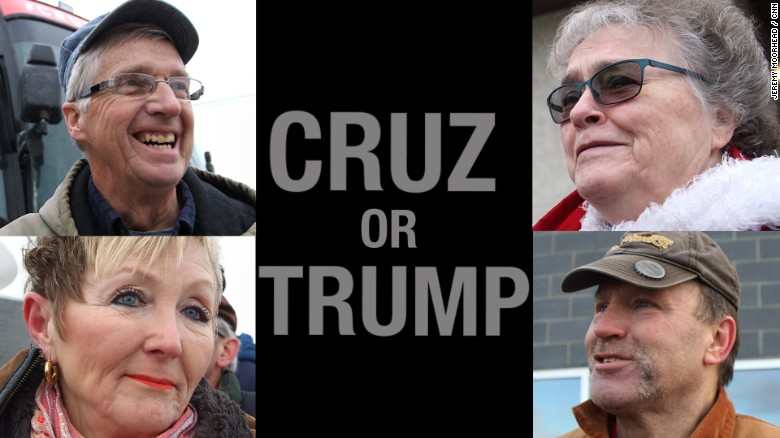 Here's what Trump supporters had to say about Ted Cruz, and vice-versa