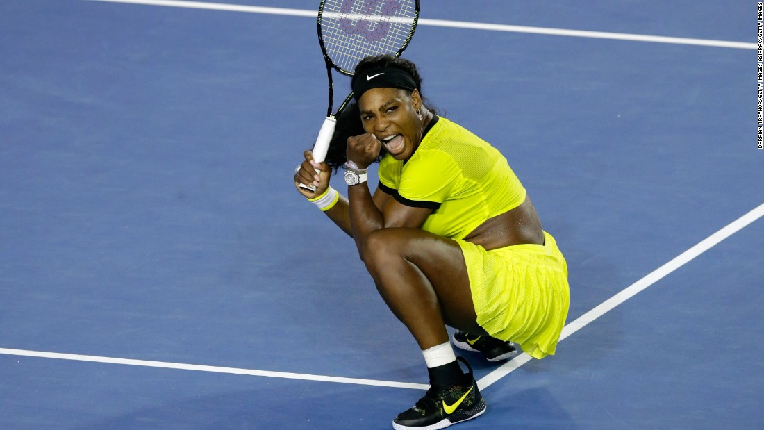 World No. 1 Williams is yet to lose a set in the tournament so far and is aiming for a record-equaling 22nd grand slam title.
