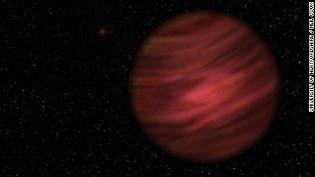 An artist's impression of 2MASS J2126.