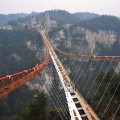 01 Zhangjiajie glass bridge construction 0127