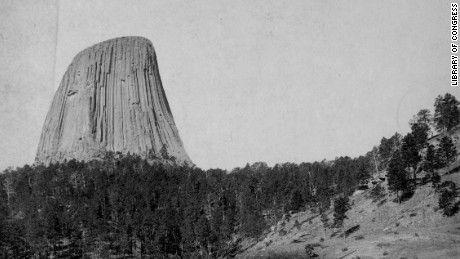 Devil's Tower in Wyoming became the first National Monument under the 1906 Antiquities Act.