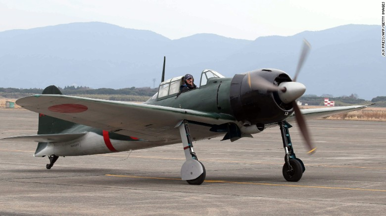 Once-feared fighter plane flies again