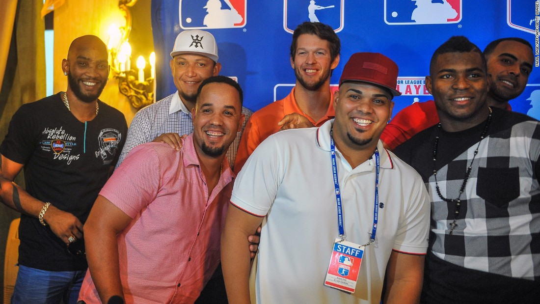 Many Cubans have defected in order to play in Major League Baseball (MLB). In December 2015, some returned to their homeland as part of a goodwill tour following the recent thaw in relations between the U.S. and Cuba. Cubans Alexei Ramirez, Jose Dariel Abreu, Brian Pena and Yasiel Puig were among the multinational group.