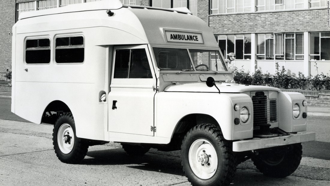 The Land Rover's adaptable construction meant it could take on various body styles.