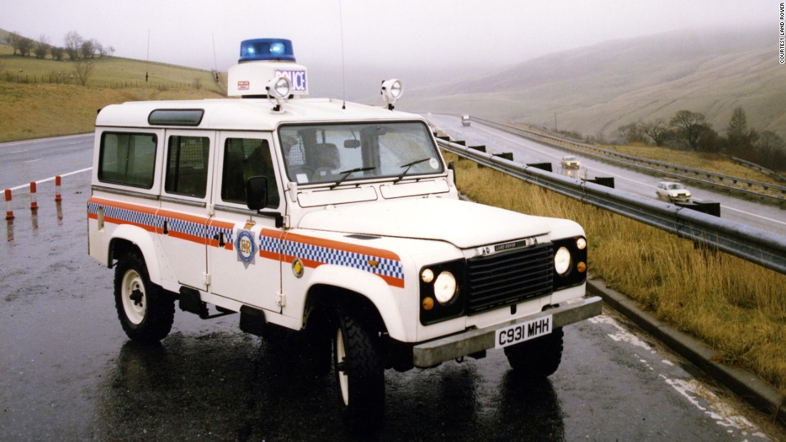 Britain's police service has a long history of using the Land Rover.