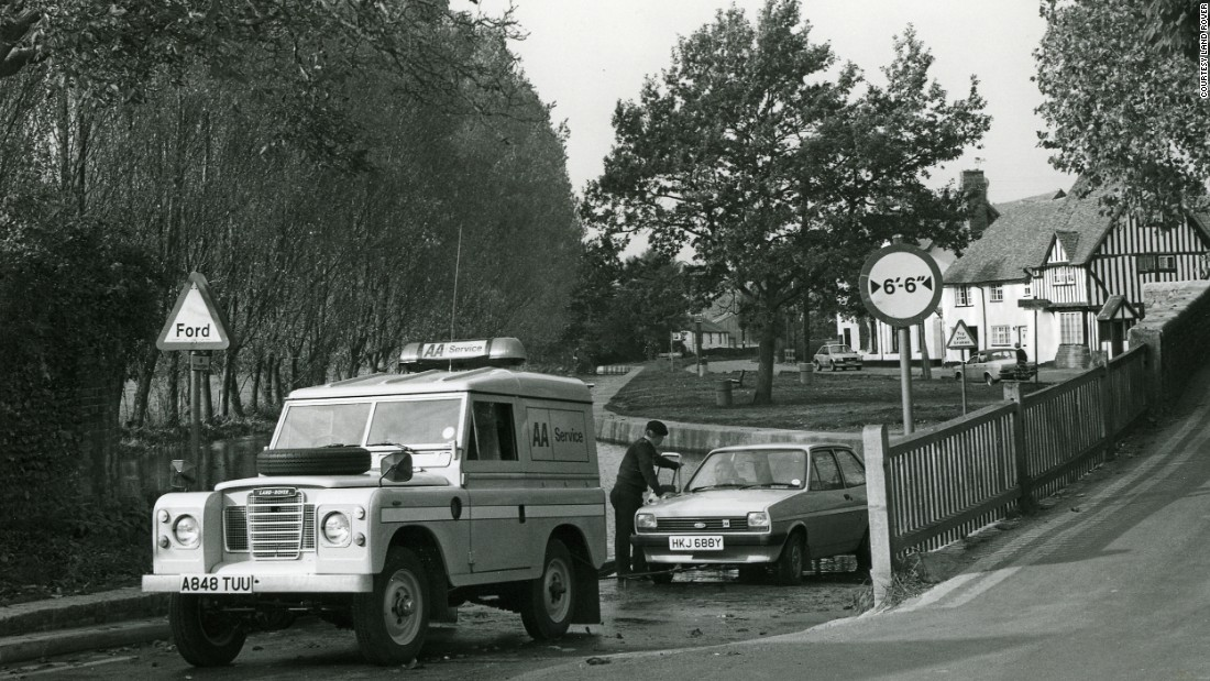 Britons have become used to relying on Land Rovers to get them out of trouble.