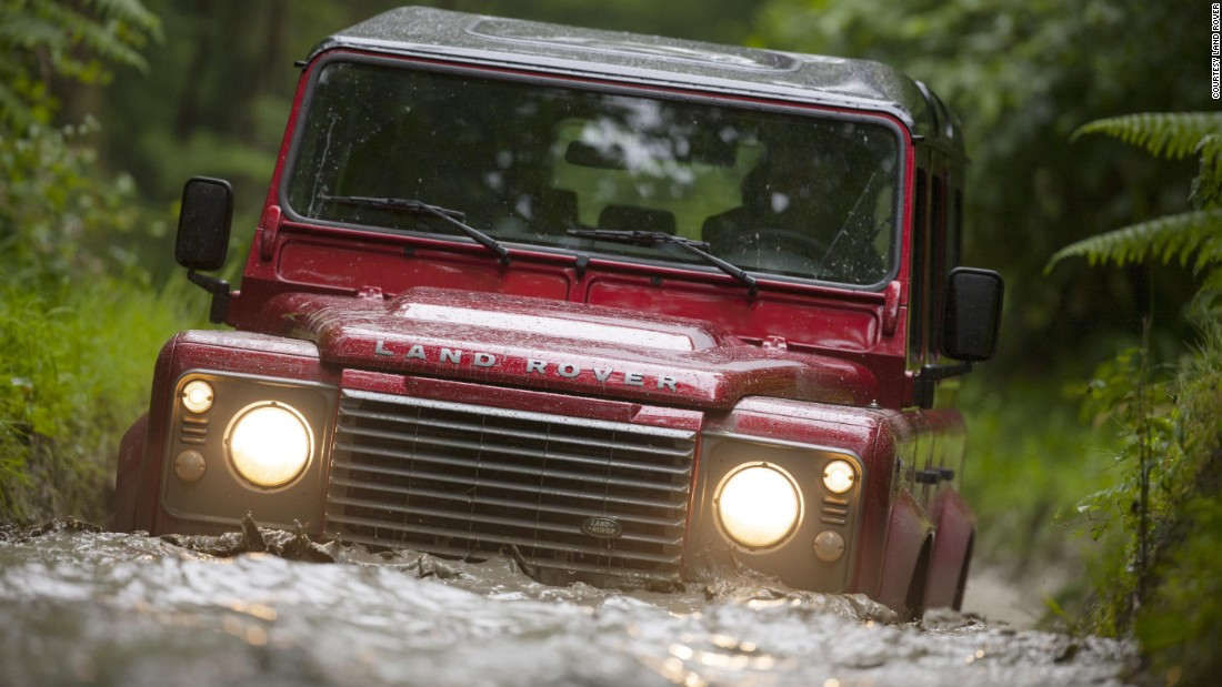 The Land Rover evolved into the Defender, but its go-anywhere ability remained the same.
