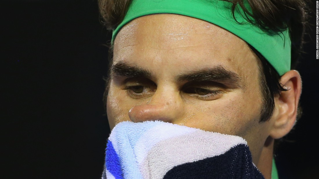Federer had been hoping to reach his first final in Melbourne since 2010, when he won the season's opening grand slam for the fourth time.
