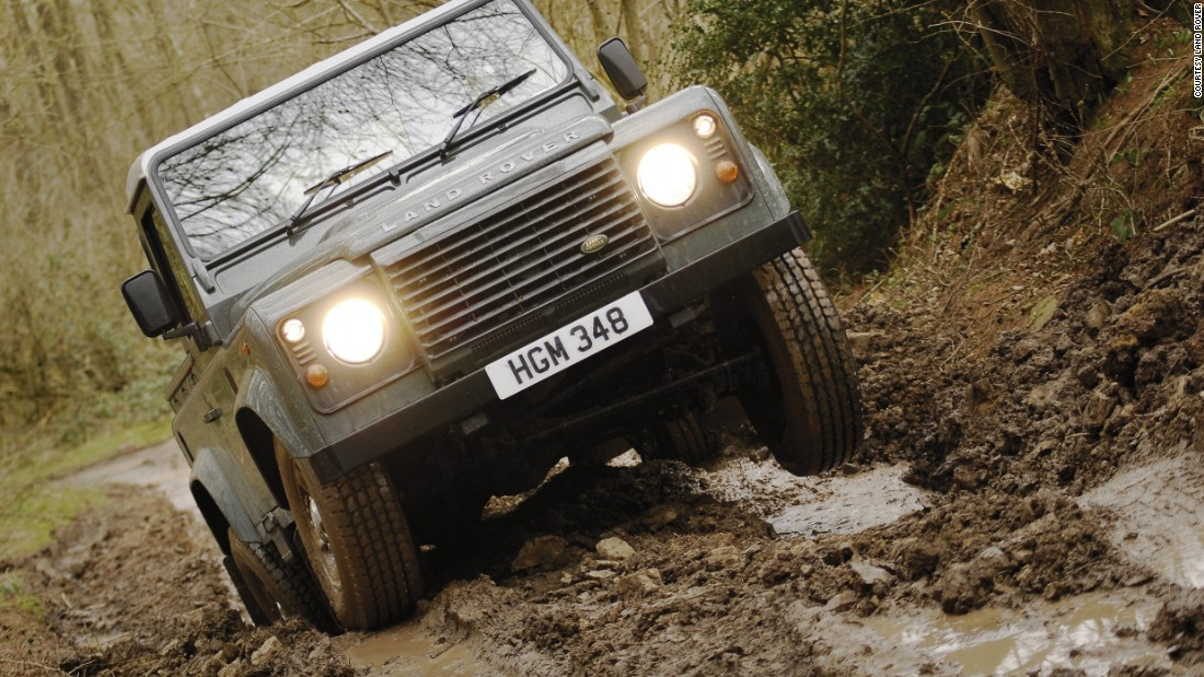 The Defender's strength in poor conditions made it a popular choice in rural areas.