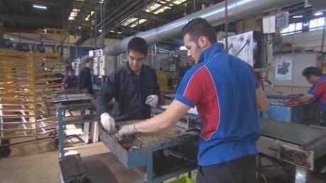 iran car manufacturing revival pleitgen pkg_00015708