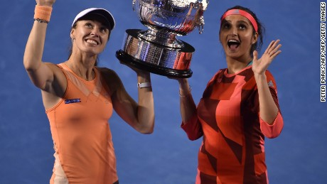 Martina Hingis' golden comeback