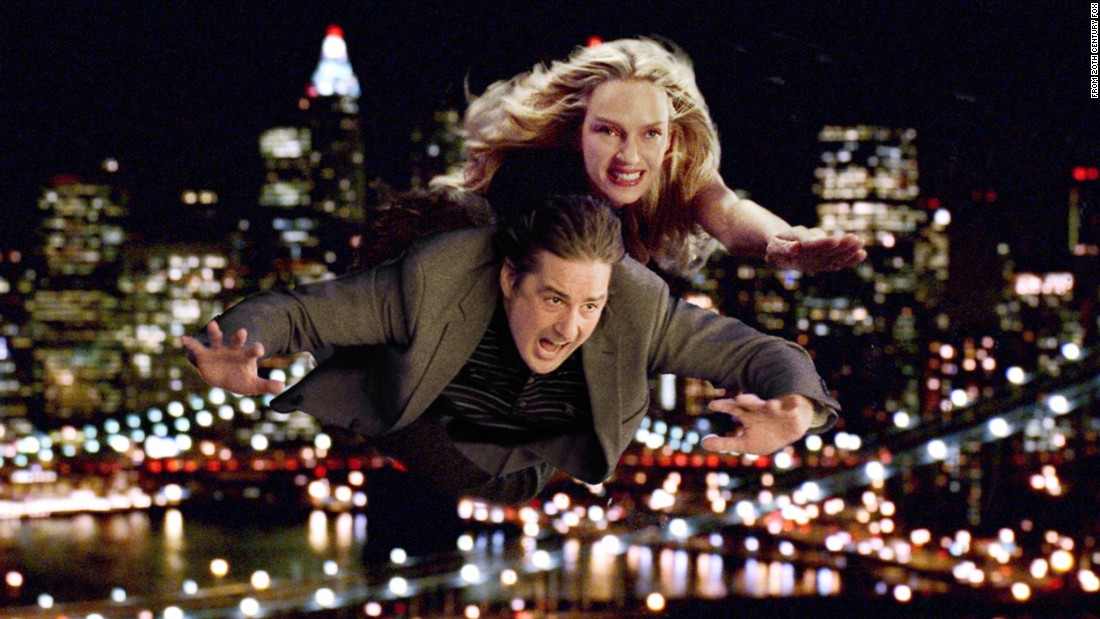 "Uma Thurman and Luke Wilson starred in ""My Super Ex-Girlfriend."" The takeaway: Never dump a superhero."