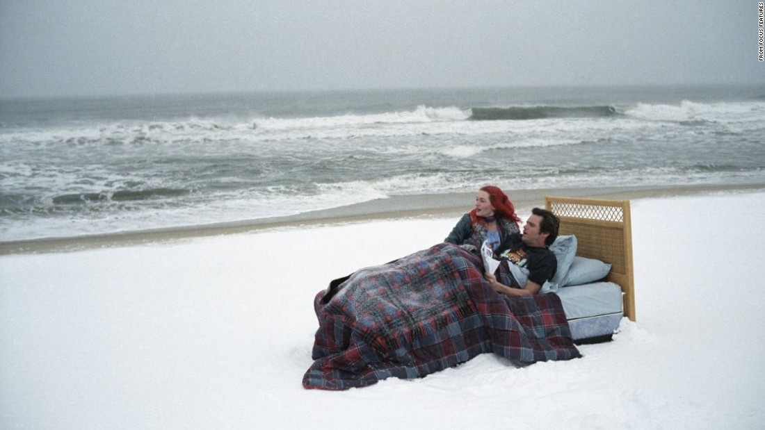 "In ""Eternal Sunshine of the Spotless Mind,"" Jim Carrey and Kate Winslet undergo an experimental procedure to wipe any trace of their relationship from their memories after it goes sour. How could anyone forget a punk rock Kate Winslet, though?"