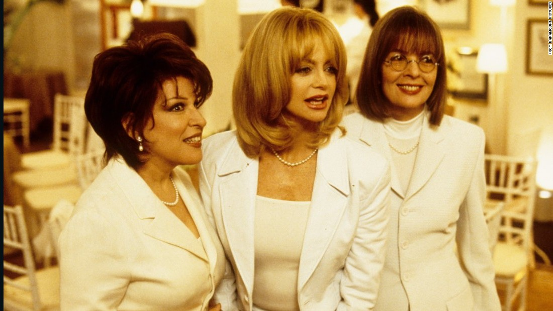 """First Wives Club"" features Bette Midler, Goldie Hawn and Diane Keaton as three ex-wives who band together to get revenge on their lousy former husbands."