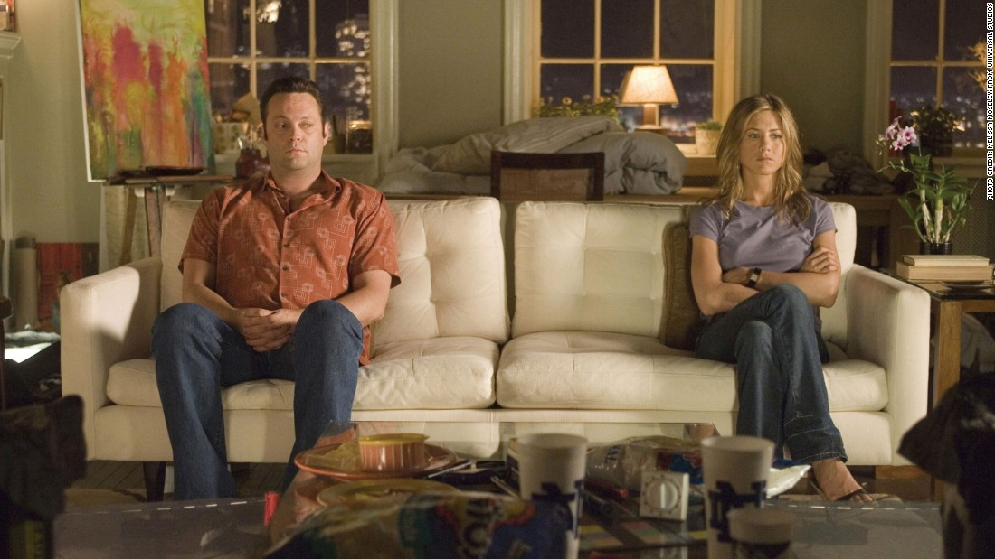 "They say misery loves company. If you're trying to get over the demise of a promising relationship or simply feeling down on love, a breakup movie might be just the ticket. Jennifer Aniston and Vince Vaughn can't afford to move out of their apartment post-split in the movie ""The Break-Up."" When the former lovers become hostile roommates, hilarity ensues."