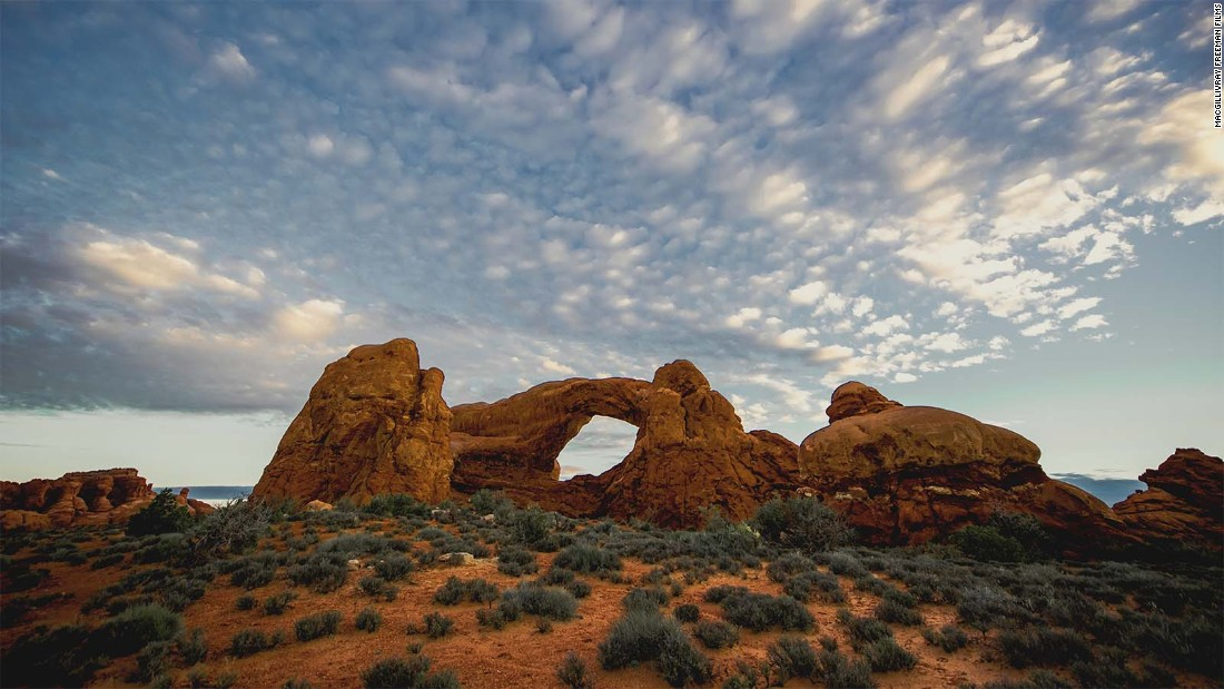 Arches National Park in Utah is home to more than 2,000 known arches.