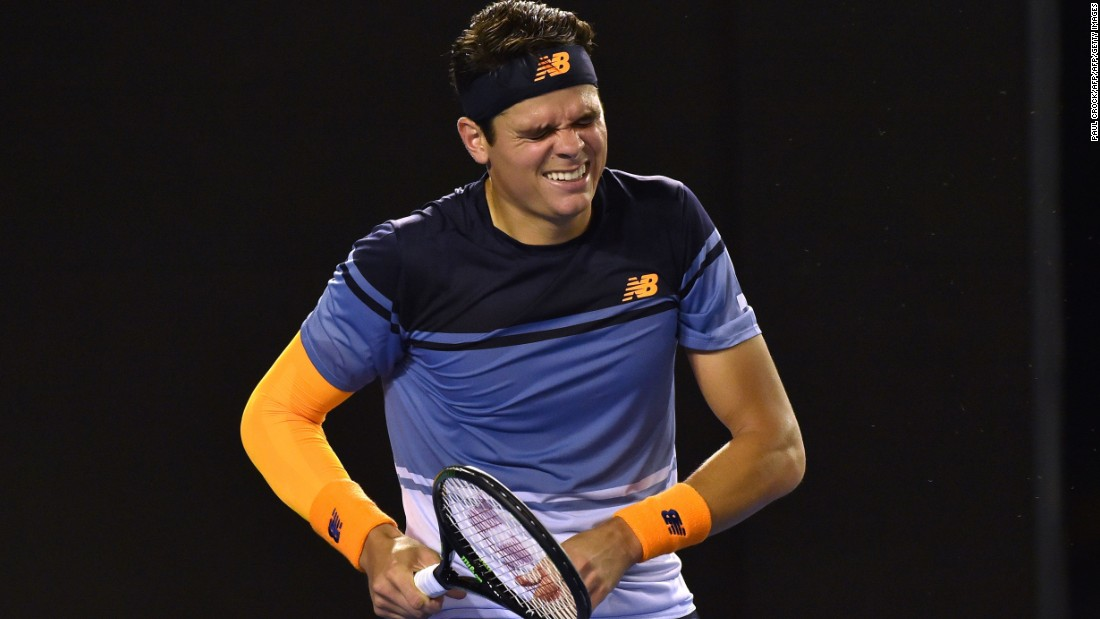 Raonic looked in a commanding position when leading two sets to one, but eventually succumbed to an injury that appeared to severely hamper his movement in the fifth set.