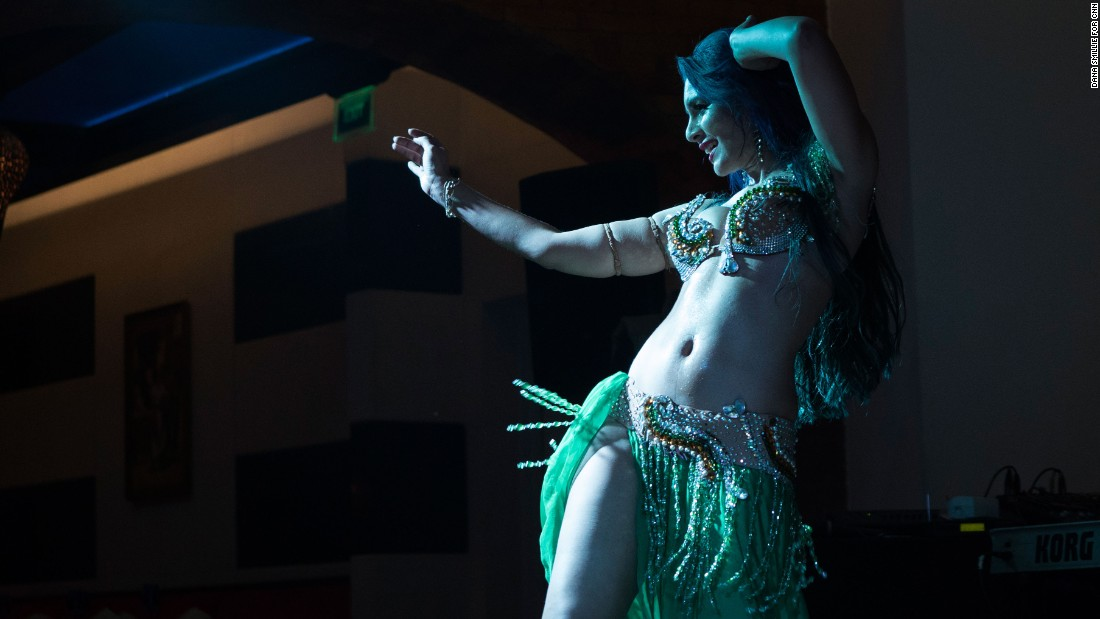 """Belly dancing in Egypt is both a source of joy and at the same time a taboo,"" says Sultan. ""People will watch a belly dancer but it's typical for someone to say I would never let my sister become a belly dancer or for a mother to say my son can never marry a belly dancer, but she'll bring one to her son's wedding."""