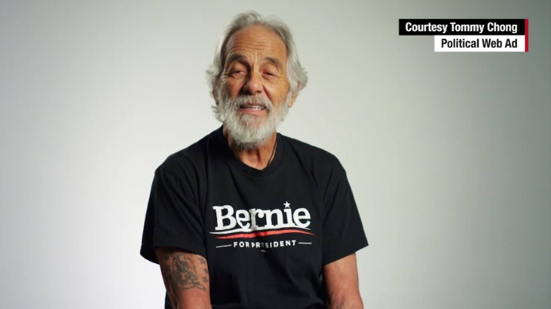 Here is Tommy Chong's PSA for Bernie Sanders