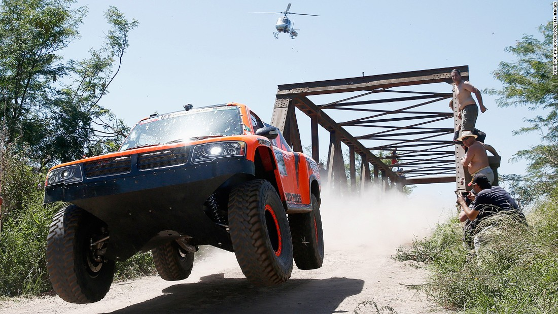 Buenos Aires is a stop on the annual Dakar Rally, an off-road endurance race across some of the world's toughest terrain.