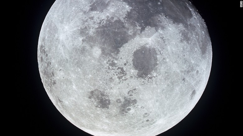 Head-on collision created Earth's moon