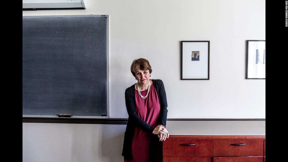 Professor Martha A. Sandweiss teaches a seminar on Princeton and slavery.
