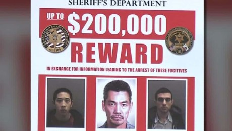california prison escape manhunt five arrested lead paul vercammen lead dnt_00004214