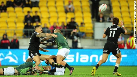 HSBC Wellington Sevens: Sonny Bill Williams lives up to star billing