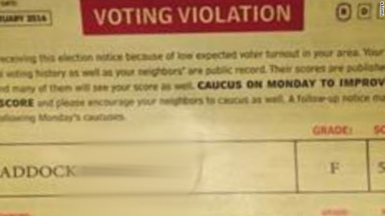 Ted Cruz campaign mailer voter violation newday_00000000