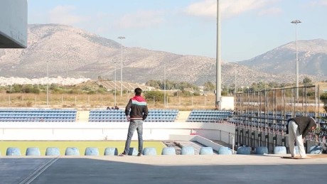 Former Olympic venues now hosting refugees
