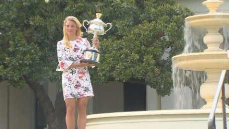 Angelique Kerber reflects on Australian Open win