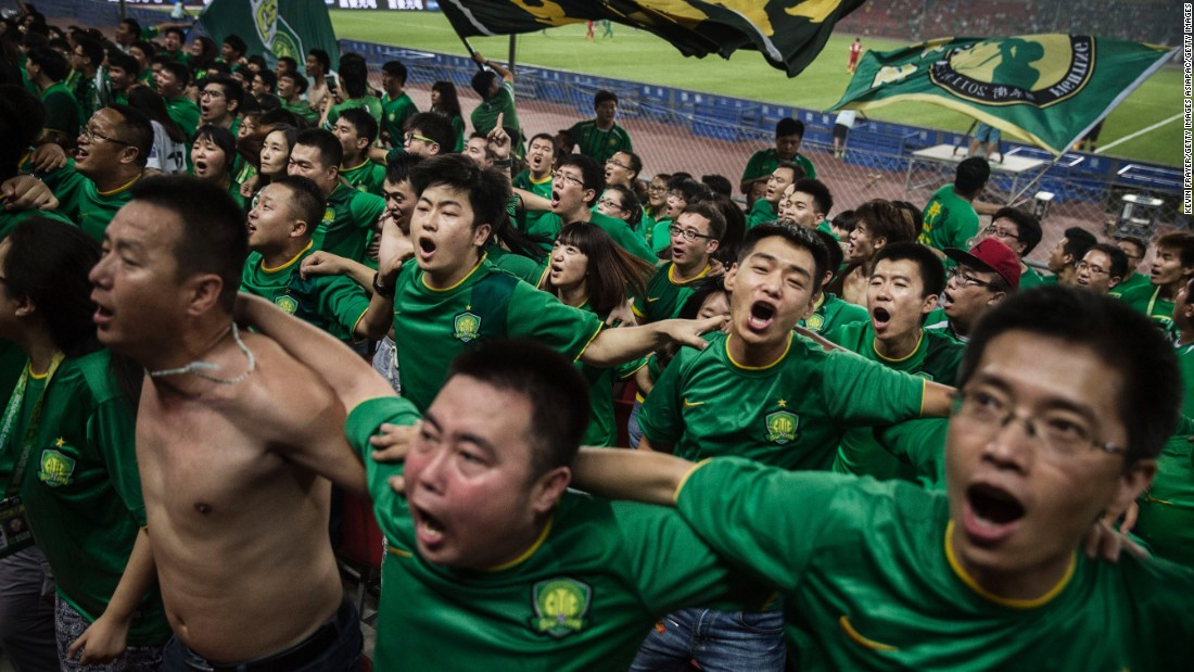 No wonder the fans are celebrating. It might not be seen as a traditional football superpower, but Chinese clubs have splashed out millions of dollars on some of the world's top players -- and not just for Oscar...