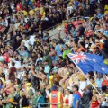 Wellington 7s fans stadium shot