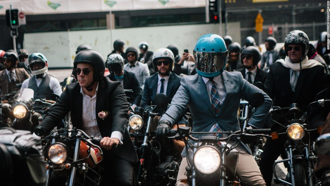 Are the days of the leather-clad motorcyclist behind us? These days, an increasing number of riders are opting for a more stylish look.