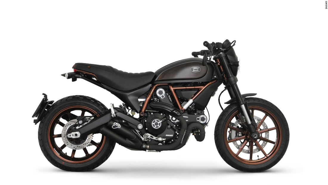 "In 2016 ""Ducati is pushing through to new worlds,"" Chinnock says. ""For the first time in the company's 90-year history, we created an adventure motorcycle, the Multistrada 1200 Enduro ... In addition, we just unveiled the XDiavel, [our] first true cruiser. These new models give us the ability to appeal to entirely new groups of motorcyclists, while giving Ducati loyalists more options."" The company also recently debuted the Italia Independent Scrambler (above), a collaboration with foppish Fiat heir <a href=""https://www.instagram.com/lapoindependent/?hl=en"" target=""_blank"">Lapo Elkann</a>."