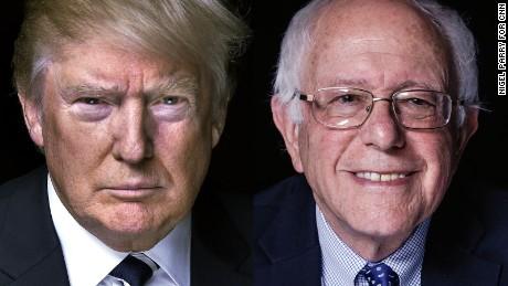 Sanders, Trump stun America