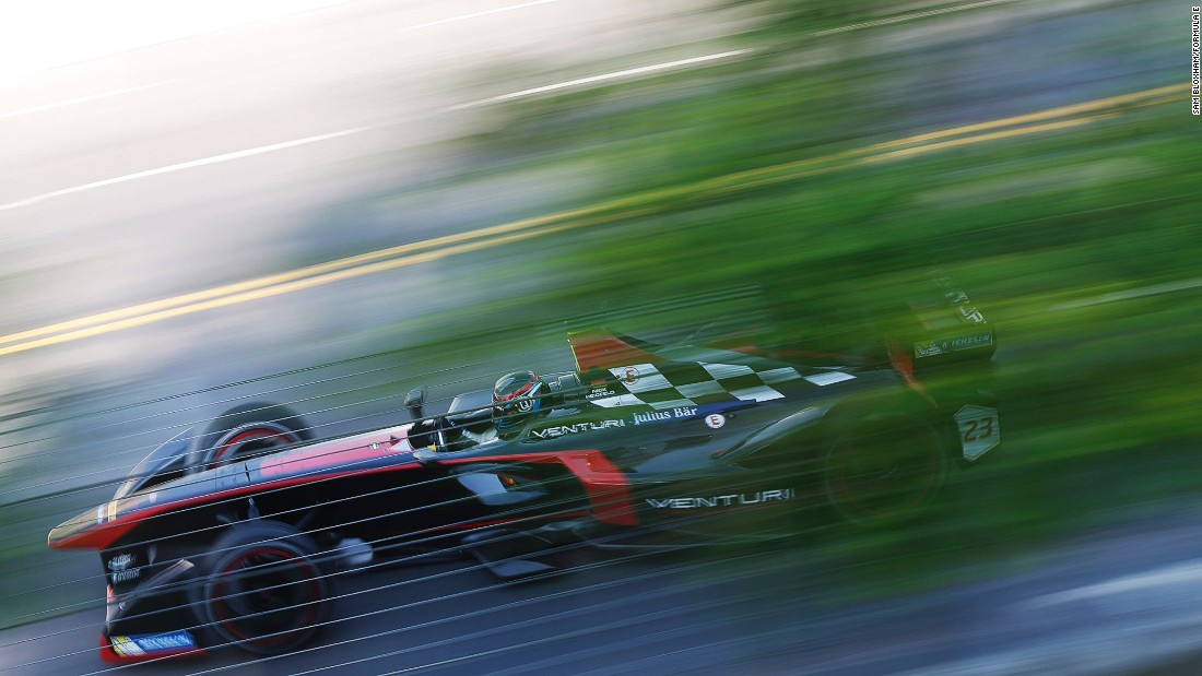 Green, clean and fast: Formula E is the world's first all-electric racing series.