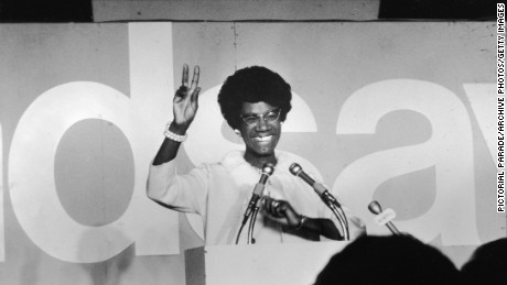 The first African American woman to run for president