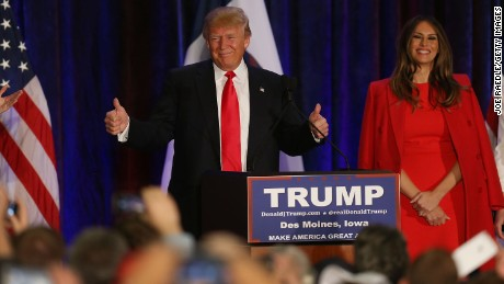 Donald Trump bid badly wounded in Iowa