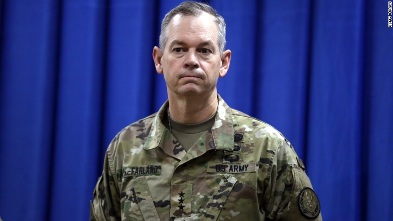 Lt. General: Carpet bombing 'inconsistent with our values'