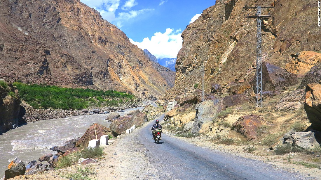 Last summer, the 21-year-old student from Lahore embarked on a six-day journey to Kashmir and a 20-day adventure to the Khunjerab Pass on the border with China.