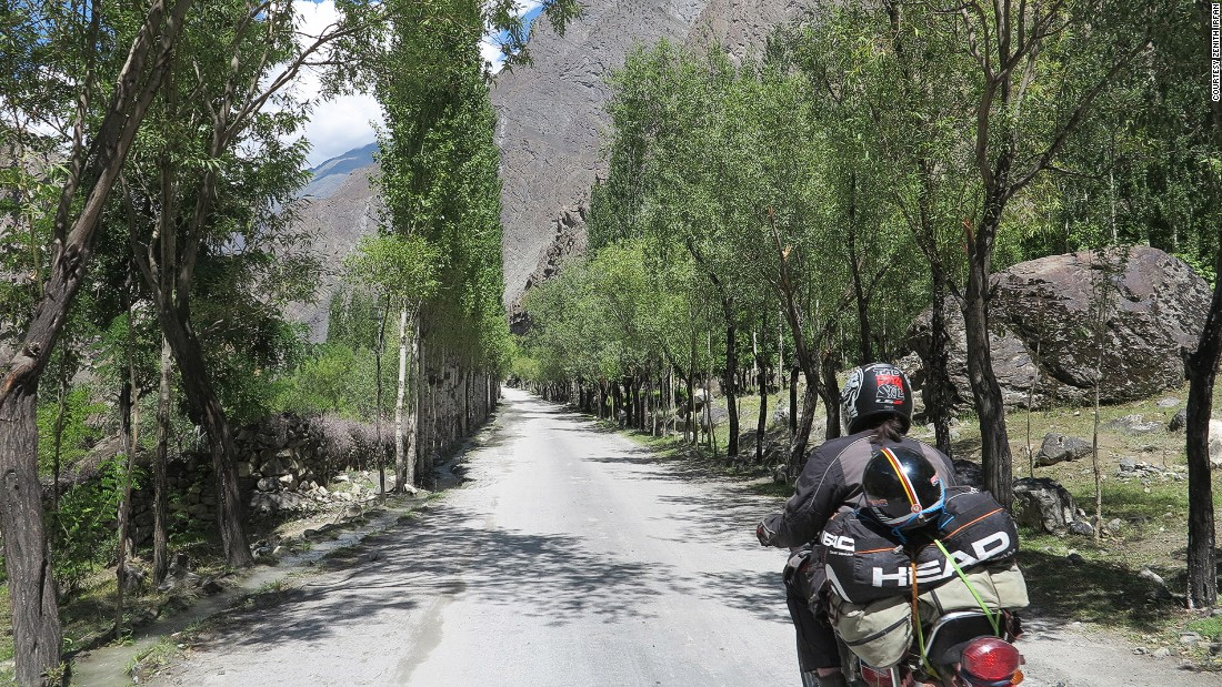 The road trip to the edges of her country took her through the scenic Skardu district in Gilgit-Baltistan, the northernmost territory of Pakistan.